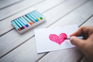Xander colour heart